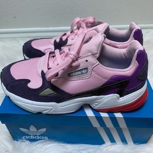 Adidas FALCON SHOES Clear Pink / Legend Purple
